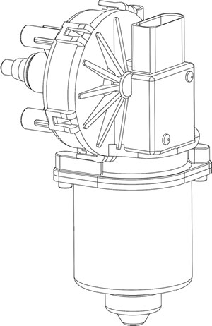 Wiper motor-common series